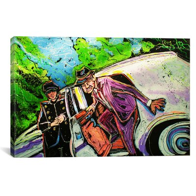 iCanvasArt Olivia Rolls 005 Canvas Wall Art by Rock Demarco
