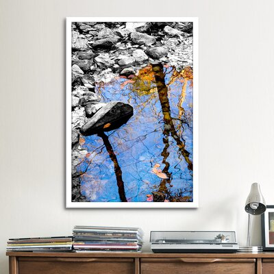 iCanvasArt 'Reflection Bear Mountain' by Harold Silverman - Foilage and Greenery Photographic Print on Canvas