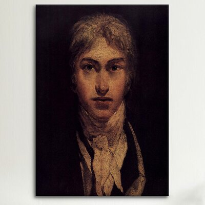 iCanvasArt 'Self Portrait 1799' by Joseph William Turner Painting Print on Canvas