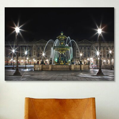 iCanvasArt 'Concorde' by Sebastien Lory Photographic Print on Canvas