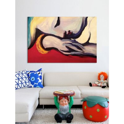 iCanvasArt 'The Rest' by Pablo Picasso Painting Print on Canvas