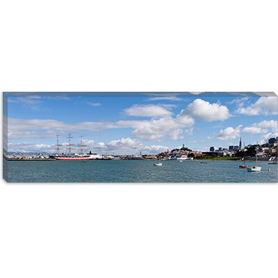 iCanvasArt San Francisco Bay, San Francisco, California Canvas Wall Art