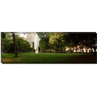 iCanvasArt Madison Square Park, New York City Canvas Wall Art