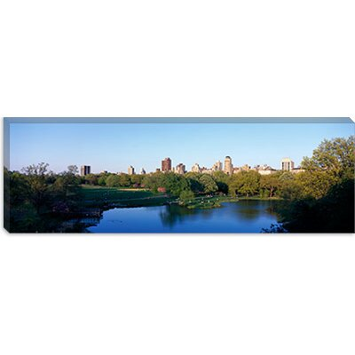 iCanvasArt Central Park, Upper East Side, NYC, New York City, New York State Canvas Wall ...