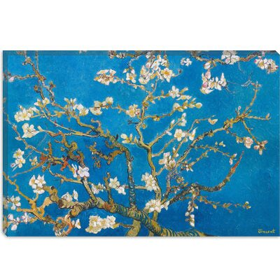 iCanvasArt Almond Blossom by Vincent Van Gogh Painting Print on Canvas