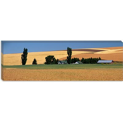 iCanvasArt Farm, Saint John, Washington State Canvas Wall Art