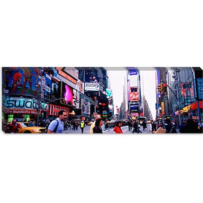 iCanvasArt Times Square, New York City Canvas Wall Art