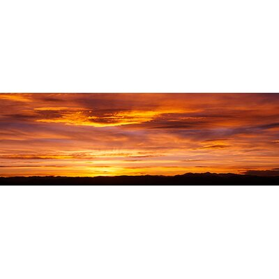 iCanvasArt Sky at Sunset, Daniels Park, Denver, Colorado Canvas Wall Art