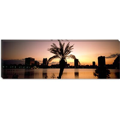 iCanvasArt Lake Eola, Summerlin Park, Orlando, Orange County, Florida Canvas Wall Art