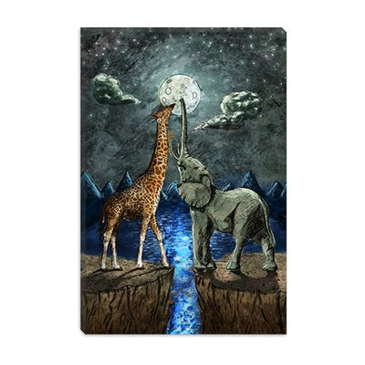 iCanvasArt Magical Forces of the Moon Canvas Wall Art