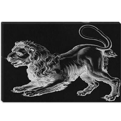 iCanvasArt Leo (Lion) II Canvas Wall Art