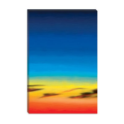 iCanvasArt Modern Canvas Wall Art Sky Series