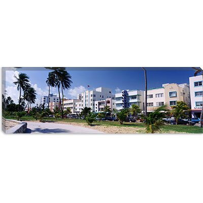 iCanvasArt Ocean Drive, South Beach, Miami Beach, Florida Canvas Wall Art