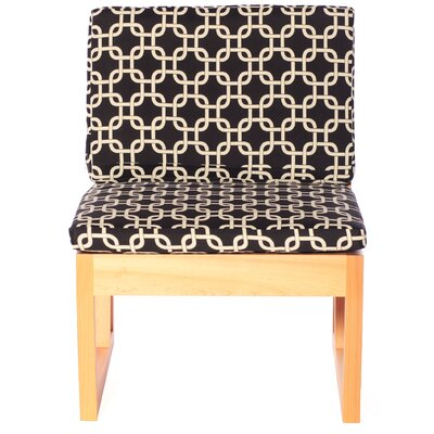 nine6 Modern Veranda Cypress Side Chair with Cushion