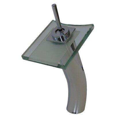 Refresh Single Lever Deck Mount Waterfall Vessel Faucet - GF-011