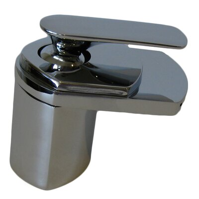 Single Lever Deck Mount Waterfall Faucet - NBF-084BN / NBF-084ORB