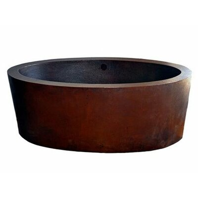 Dakota Freestanding Copper Bath Tub - NBT-DAK
