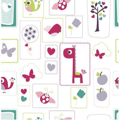 Lemon Ribbon Animal Sanctuary Wallpaper