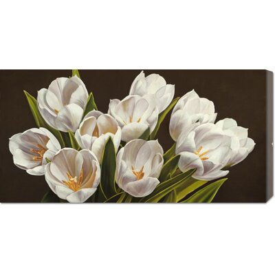 'Bouquet di tulipani' by Serena Biffi Painting Print on Canvas