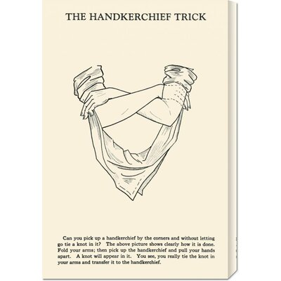 Global Gallery 'The Hankerchief Trick' by Retromagic Stretched Canvas Art