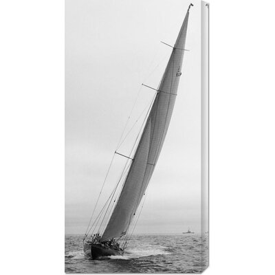 Unknown 'Sailboat Racing, 1934' Stretched Canvas Art