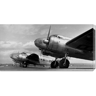 Global Gallery 'Airplanes Lineup, 1936' by Gordon S. Williams Stretched Canvas Art