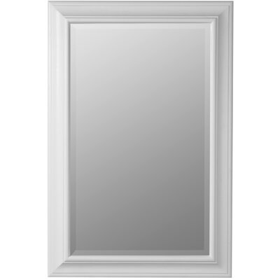 Alexandra Rectangle Mirror in Chesapeake White Finish
