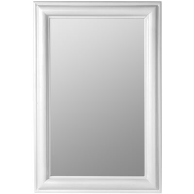 Cooper Classics Julia Rectangle Mirror in Chesapeake White Finish