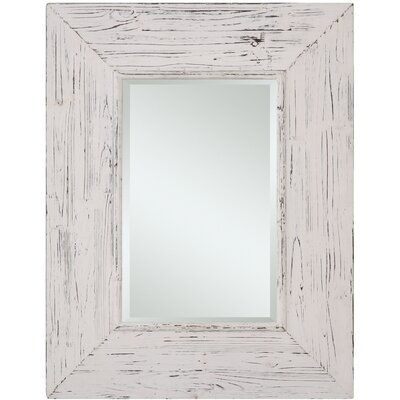 Wilkes Mirror in Distressed White