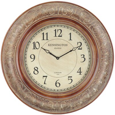 Cooper Classics Mackenzie Clock in Distressed Aged Copper