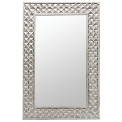 Cooper Classics Sanford Mirror in Distressed Aged Gray