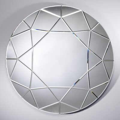 Deknudt Mirrors Homka Round Diamond Mirror