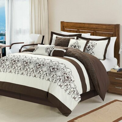 Troy 12 Piece Comforter Set