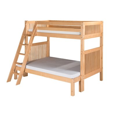 Camaflexi Twin over Full Bunk Bed with Angle Ladder