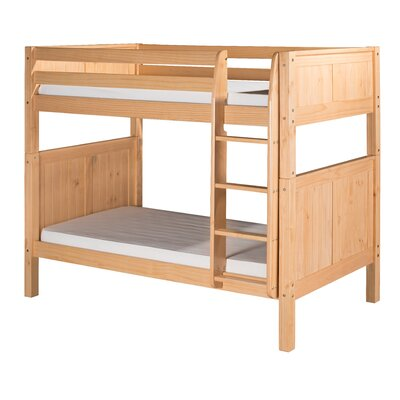 Bunk Bed with Panel Headboard
