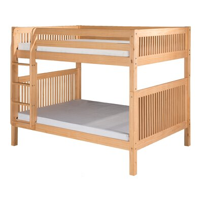 Full Over Full Bunk Bed with Mission Headboard