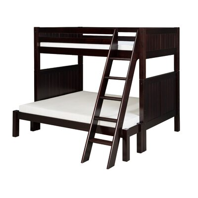 Camaflexi Twin over Full Standard Bunk Bed with Angle Ladder