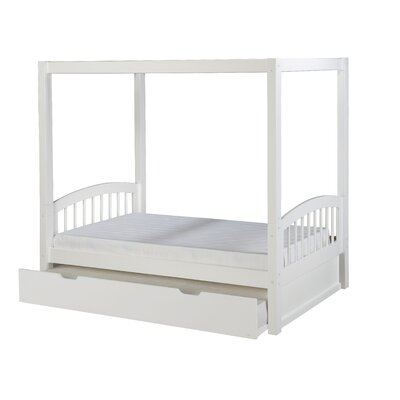 Camaflexi Twin Canopy Bed