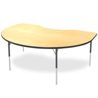 """Marco Group Inc. 48"""" x 72"""" Kidney Adjustable Activity Table"""