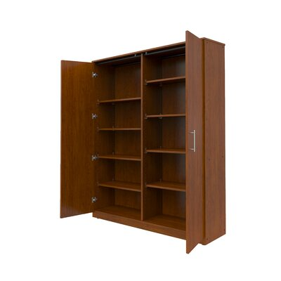"Marco Group Inc. Mobile CaseGoods 48"" Locking Wardrobe Cabinet"