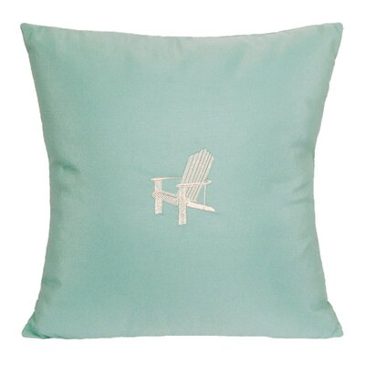 Nantucket Bound Adirondack Embroidered Sunbrella Fabric Indoor/Outdoor Pillow