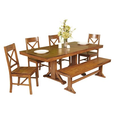 Home Loft Concept Millwright 6 Piece Dining Set