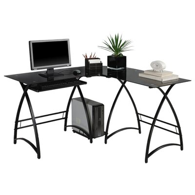Home Loft Concept Alexa L-Shaped Computer Desk