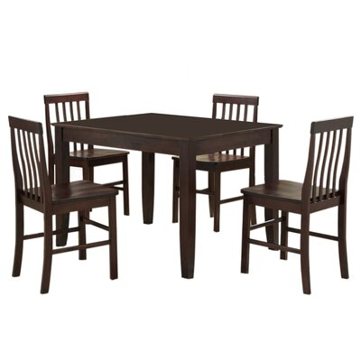 Home Loft Concept Abigail 5 Piece Dining Set