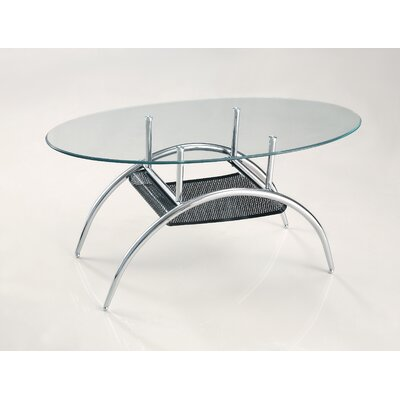 Home Loft Concept Black Mesh Coffee Table