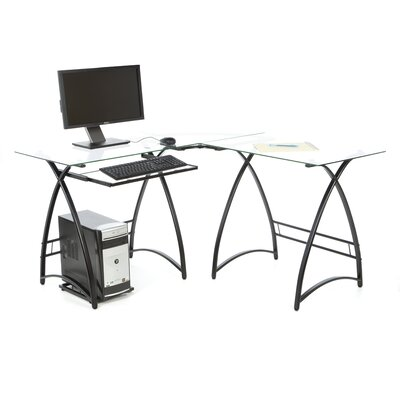 Home Loft Concept Alexa 6mm L-Shaped Computer Desk