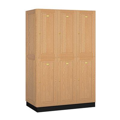 Salsbury Industries Executive Double Tier 3 Wide Locker
