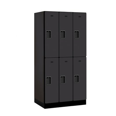 Salsbury Industries Double Tier 3 Wide Designer Locker