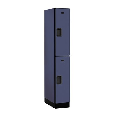 Salsbury Industries Double Tier 1 Wide Designer Locker
