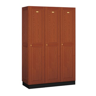 Salsbury Industries Executive Single Tier 3 Wide Locker